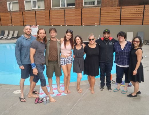 Localife Calgary's pool party went swimmingly
