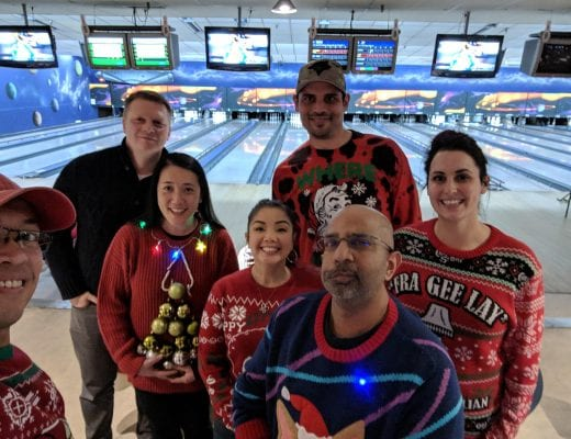 Localife Vancouver: Ugly Christmas sweaters, bowling, pizza