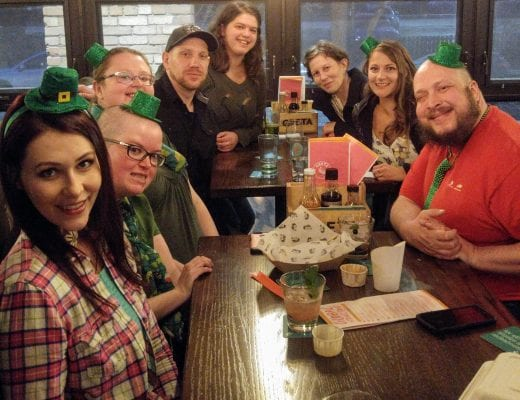 Localife Calgary enjoys St. Patrick's Day pub night