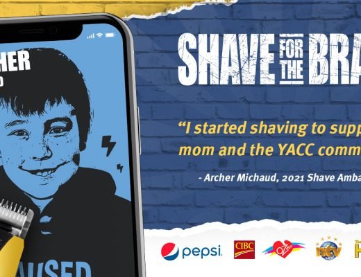 Shave for the Brave 2021: Archer